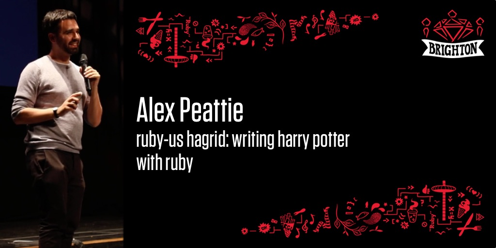 Ruby-us Hagrid: Writing Harry Potter with Ruby
